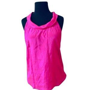 ❗️J. Crew Silk Blend Pink Blouse MSRP $118!